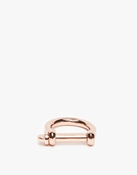 Miansai Rose Gold Screw Ring