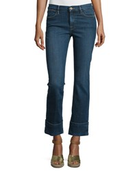 Frame Denim Le High Cuffed Ankle Jeans Ardmore