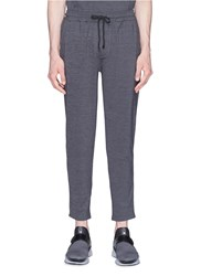 The Upside Stripe Outseam Stretch Jogging Pants Grey