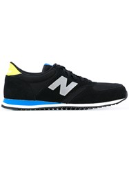 New Balance Lace Up Sneakers Men Polyester Synthetic Resin Foam Rubber 43 Black