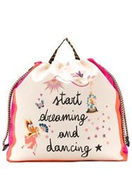 Etro Start Dreaming And Dancing Print Backpack Neutrals