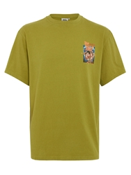Weird Fish Fin Lizzy Tee Green
