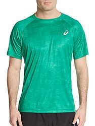 Asics Graphic Tee Skyline Jungle Green