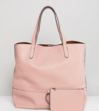 Street Level Tote Bag In Blush Pink