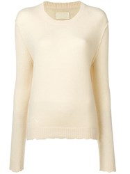 Zadig And Voltaire Punch Hole Detailed Jumper Yellow