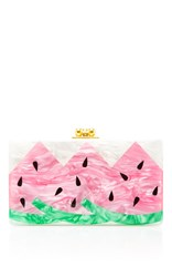 Edie Parker M'o Exclusive Jean Watermelon Clutch Light Pink