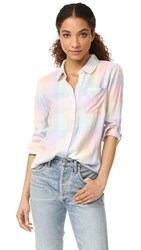 Rails Hunter Button Down Shirt Sherbert Check