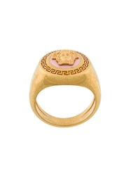 Versace Medusa Tribute Ring Metallic