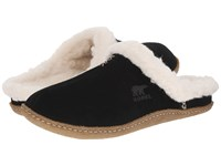 Sorel Nakiska Slide Black Fossil Women's Slippers