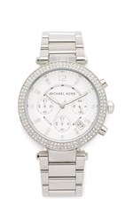 Michael Kors Parker Watch Silver