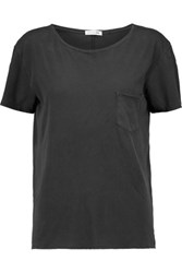 Rag And Bone X Boyfriend Cotton T Shirt Charcoal