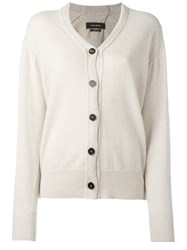 Isabel Marant Knitted Cardigan Nude Neutrals