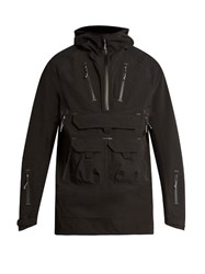 7L Lightweight Hooded Peformance Jacket Black
