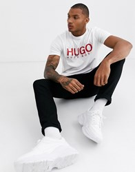 Hugo Dolive T Shirt In White