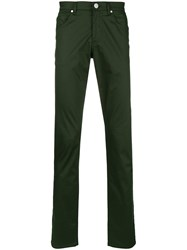 Versace Jeans Classic Slim Trousers Green