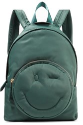 Anya Hindmarch Chubby Shell Backpack Army Green