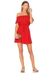 Lovers Friends Suntime Dress Red