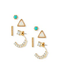 Jules Smith Designs Chunky Stud Earrings Set Women's Caribbean Jules Smith