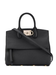 Salvatore Ferragamo Classic Tote Bag Black