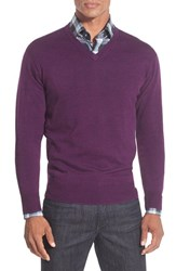 Men's Peter Millar Merino V Neck Sweater