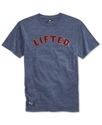 Lrg Men's Rc Lifted 47 T Shirt Black Heat