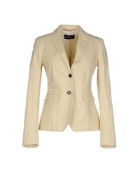 Fabrizio Lenzi Suits And Jackets Blazers Women Light Yellow