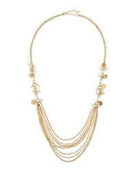 Fragments For Neiman Marcus Fragments Beaded Cluster Bib Necklace