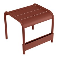 Fermob Luxembourg Side Table Red Ochre