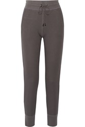 Yummie Tummie Stretch Cotton And Modal Blend Sweater Gray