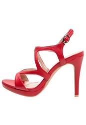 Anna Field High Heeled Sandals Red