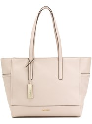 Calvin Klein Classic Tote Bag Pink And Purple