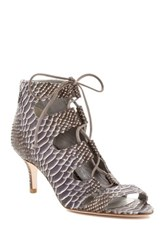 Delman Tryst Lace Up Sandal Multi