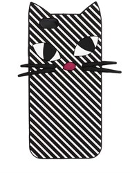 Lulu Guinness Kooky Cat Stripe Silicone Iphone 6 Case