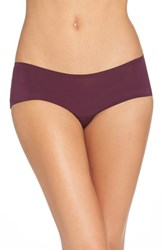 Free People Women's Gabrielle Hipster Briefs Eggplant