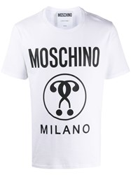 Moschino Question Large Logo Tee 60