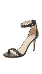 Zimmermann Lace Ankle Heels Black