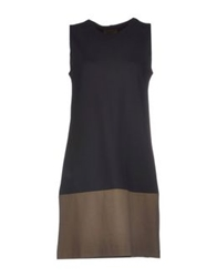 Alpha Massimo Rebecchi Short Dresses Black