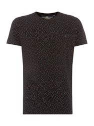Duck And Cover Finch T Shirt Black