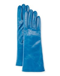 Portolano Nappa Leather Gloves Mineral Blue