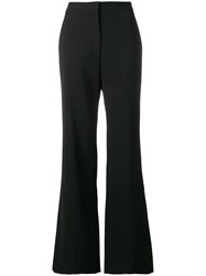 Stella Mccartney Tailored Flared Trousers Black