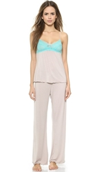 Honeydew Intimates Emma Elegance Pj Set Heathered Canyon Frost