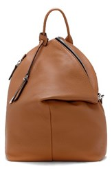 Vince Camuto Small Giani Leather Backpack Brown Chestnut Brown