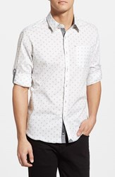 Men's 7 Diamonds 'Reflector' Trim Fit Woven Shirt