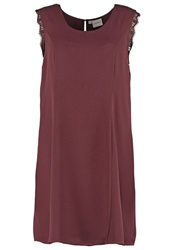 Junarose Jrmenas Cocktail Dress Party Dress Fudge Dark Brown