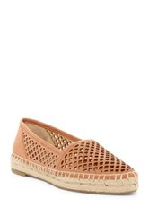 Frye Lee A Line Perforated Slip On Platform Flat Pink