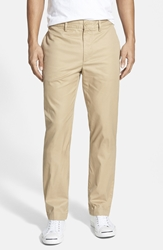 Lacoste Regular Fit Twill Chinos Light Macaroon Brown