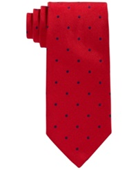 Brooks Brothers Repp Dot Tie Red