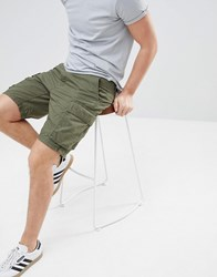 Produkt Chino Shorts Forest Night Green