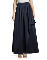 Eliza J Pleated Skirt Navy