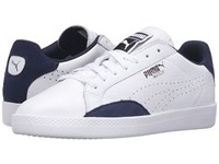 Puma Match Lo Basic Sports White Peacoat Women's Shoes
